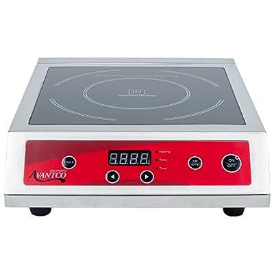Avantco IC3500 Countertop Induction Range / Cooker - 208/240V, 3500 Watt