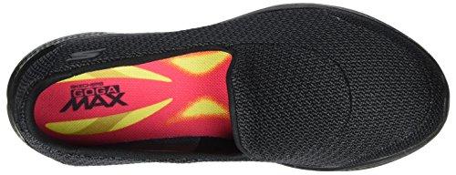 Donna Go Skechers Allenatori Walk Grey Black Nero 4 wFqqIxd