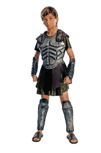 Clash Of The Titans Movie, Child's Deluxe Perseus Costume-Medium (Roman Girl Costume)