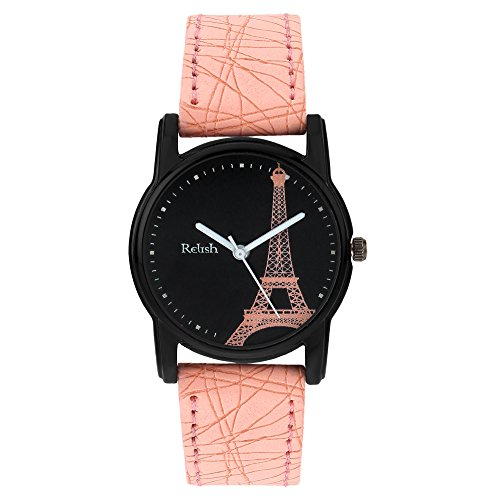 Relish Analog Eiffel Tower Black Dial Watches for Girls  amp; Women RE L066PT