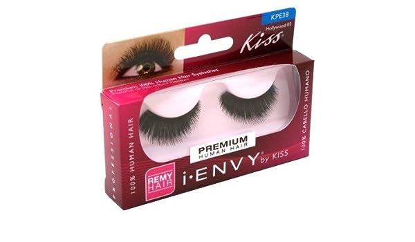 08cc1227ae6 Amazon.com : i.ENVY BY KISS EYE LASH (PACK OF 2) HOLLYWOOD #KPE38 by N/A :  Beauty