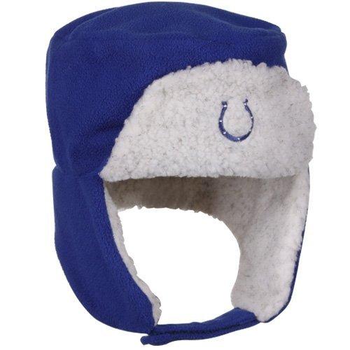 レポートを書く苦いビーチIndianapolis Colts nflリーボックフリースTrooperビーニー帽子L / XL