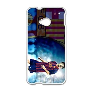HTC One M7 Cell Phone Case White Lionel Messi udpq