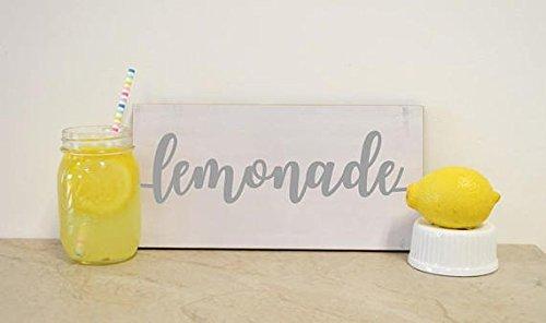 Lemonade Sign; Summer Party, Wedding Table Decoration, Custom Wood Sign, Party Decor, Bridal Shower, Baby Shower, Custom Party Idea ()