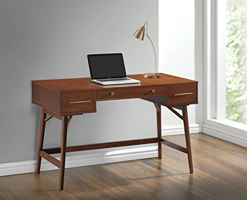 Coaster 800744 Home Furnishings Desk, Walnut by Coaster Home Furnishings