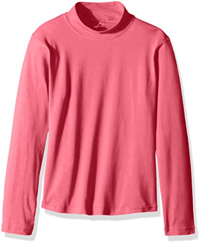 Watson's Girl's performance Long Sleeve Top, Denim Pink, Small