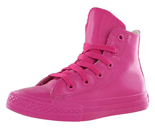 79fd6255c52 Converse Chuck Taylor All Star Leather Hi Top Cosmos Pink Youths 11 - Buy  Online in UAE.