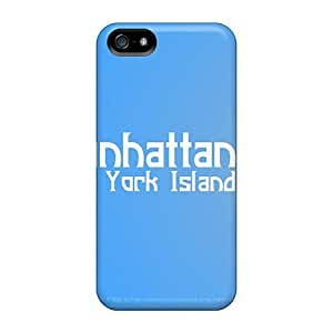 Tpu Case Cover For Iphone 5/5s Strong Protect Case - Manhattan Ny Isl Design