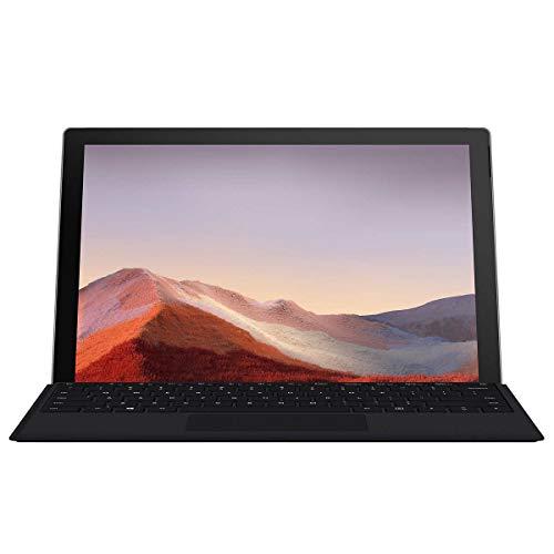 New Microsoft Surface Pro 7 Ultra-Slim and Light Laptop, 2-in-1 Touchscreen, 2736 x 1824 Display, Core i5-1035G4, USB-C, Intel Iris Plus Graphics, Windows 10, Black (W/Type Cover+Pen)