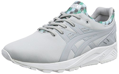 Asics Gel-Kayano Trainer Evo - Scarpe da Ginnastica Basse Unisex – Adulto, Rosa (Knockout Pink/Light Grey 2013), 44 EU Grigio (Light Grey/Light Grey 1313)