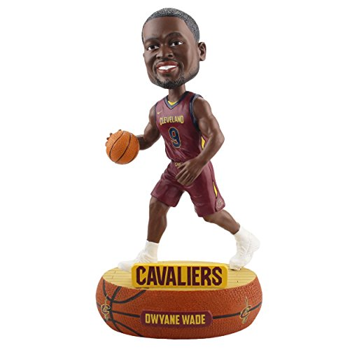 (Forever Collectibles Dwyane Wade Cleveland Cavaliers Baller Special Edition Bobblehead)