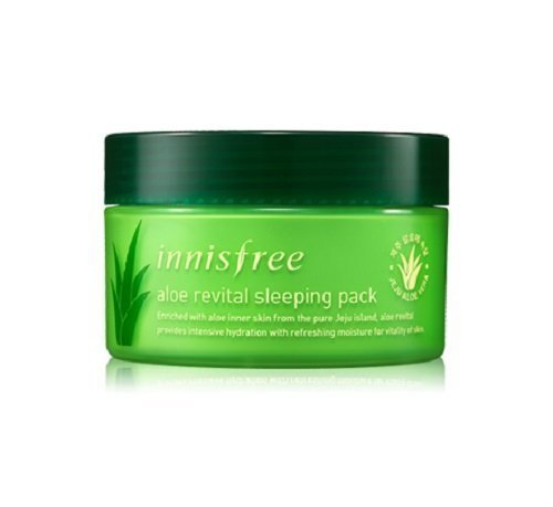 Vital Cream Mask - Innisfree Aloe Revital Sleeping Pack, 100ml