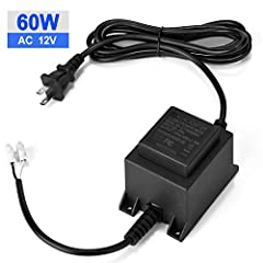 Description: The AGPTEK AC to AC Power Converter will convert your AC 120V power to AC 12v power so you can use your 12 Volt products at home, swimming pool, garden, fountain or outdoor. Ideal for the use with swimming poor lights, outdoor li...