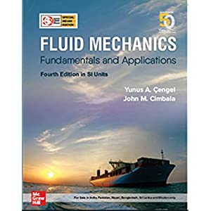 Fluid Mechanics: Fundamentals and Applications (4th edition, SIE)