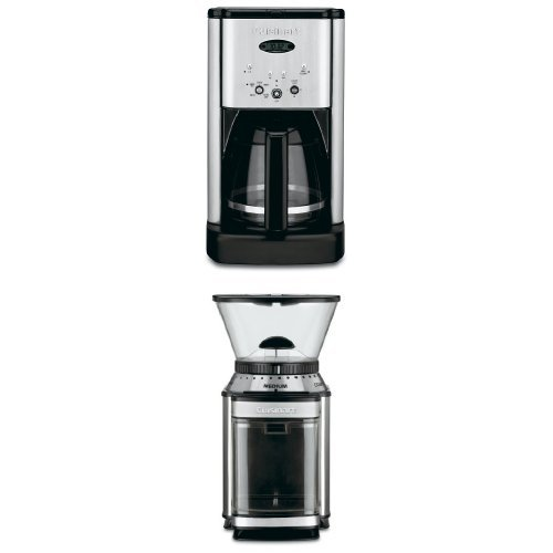 Cuisinart Coffee Maker Model Dcc 1200 : Cuisinart DCC-1200 Brew Central 12-Cup Coffeemaker and DBM-8 Supreme Grin... New eBay