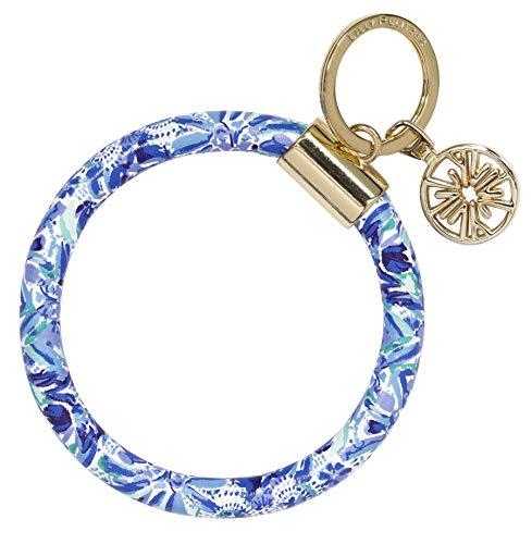 Lilly Pulitzer Round Keychain High Maintenance One Size