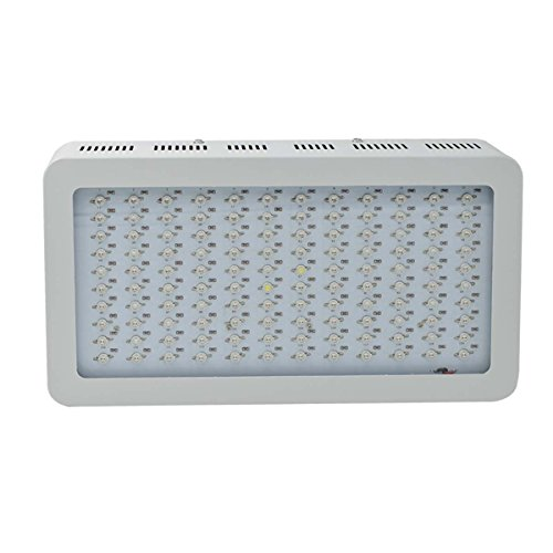 Lightess 1200w Double Chips LED Grow Light Full Specturm for Greenhouse and Indoor Plant Flowering Growing