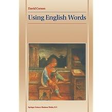 Using English Words