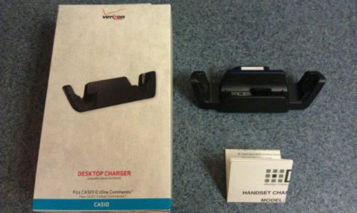 New OEM Casio C771 G'zone Commando Desktop Charger Cradle...