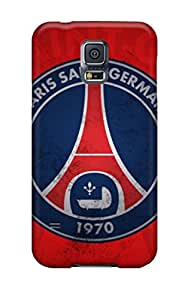 Protective Tpu Case With Fashion Design For Galaxy S5 (paris Saint Germain Old Logo)