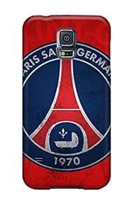 [tptWfOE3241QiKQh]premium Phone Case For Galaxy S5/ Paris Saint Germain Old Logo Tpu Case Cover