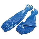 Nitri-Knit Supported Nitrile Gloves - nitri-knit glove dippednitrile interlocked knit [Set of 6]