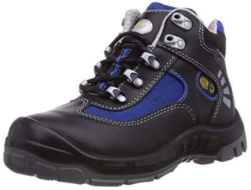 Wortec Alex S3 - Calzado de protección Unisex adulto Negro/Azul