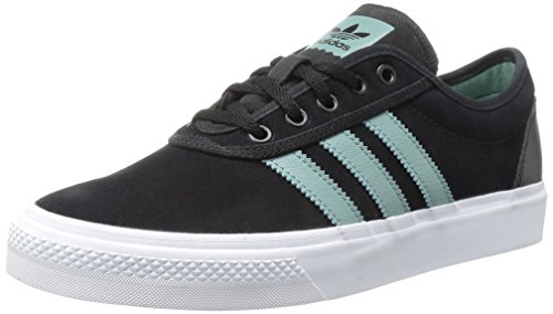 adidas Originals Men's Adi-Ease Fashion Sneaker, Core Black/Vapor Steel/White, 9.5 M US Adidas Mens Edge Top