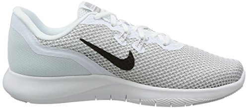 NIKE Womens Flex 7 Cross Trainer White/Metallic Silver - Pure Platinum 1bzeE4