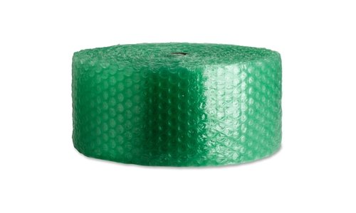 Sparco 125ft. Recycled Bubble Cushioning - 12in. Width x 125 ft Length - Eco-friendly, Flexible, Lightweight - Green by Sparco (Image #1)