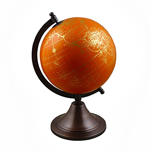 Stock Clearance Sale!! Spinning World Globe with Stand Learning Resources for Teachers, Table Décor, Office & School, 10.5 -