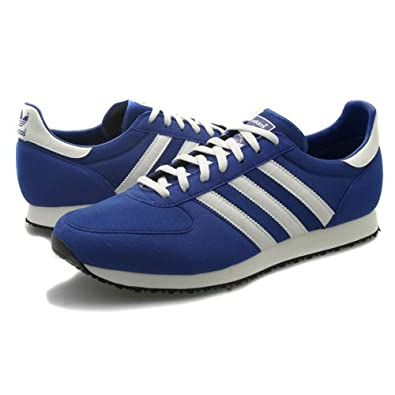d7be45faa1d7a Mens Adidas Originals ZX Racer Blue Trainers UK 9.5  Amazon.co.uk ...