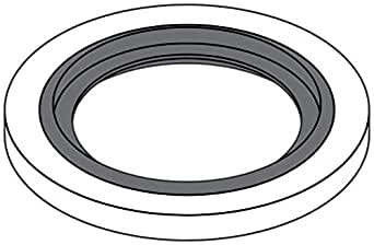 Tompkins Industries DS-MM-30 Bonded Seal for Metric Parallel Thread Nominal Size 30 Steel