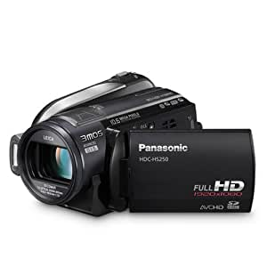 Panasonic HDC-HS250-K Hard Drive High Definition Camcorder (Black) (Discontinued by Manufacturer)