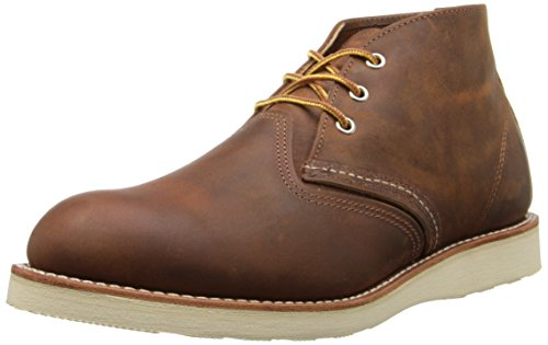 Red Wing Men's Heritage Work Chukka Boot, Copper Rough And Tough, 8 D(M) US