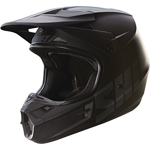 Shift Racing Assault Men's Off-Road Motorcycle Helmets - Matte Black / (Assault Off Road Helmet)