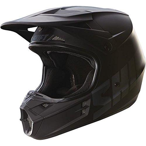 - Shift Racing Assault Men's Off-Road Motorcycle Helmets - Matte Black / Small