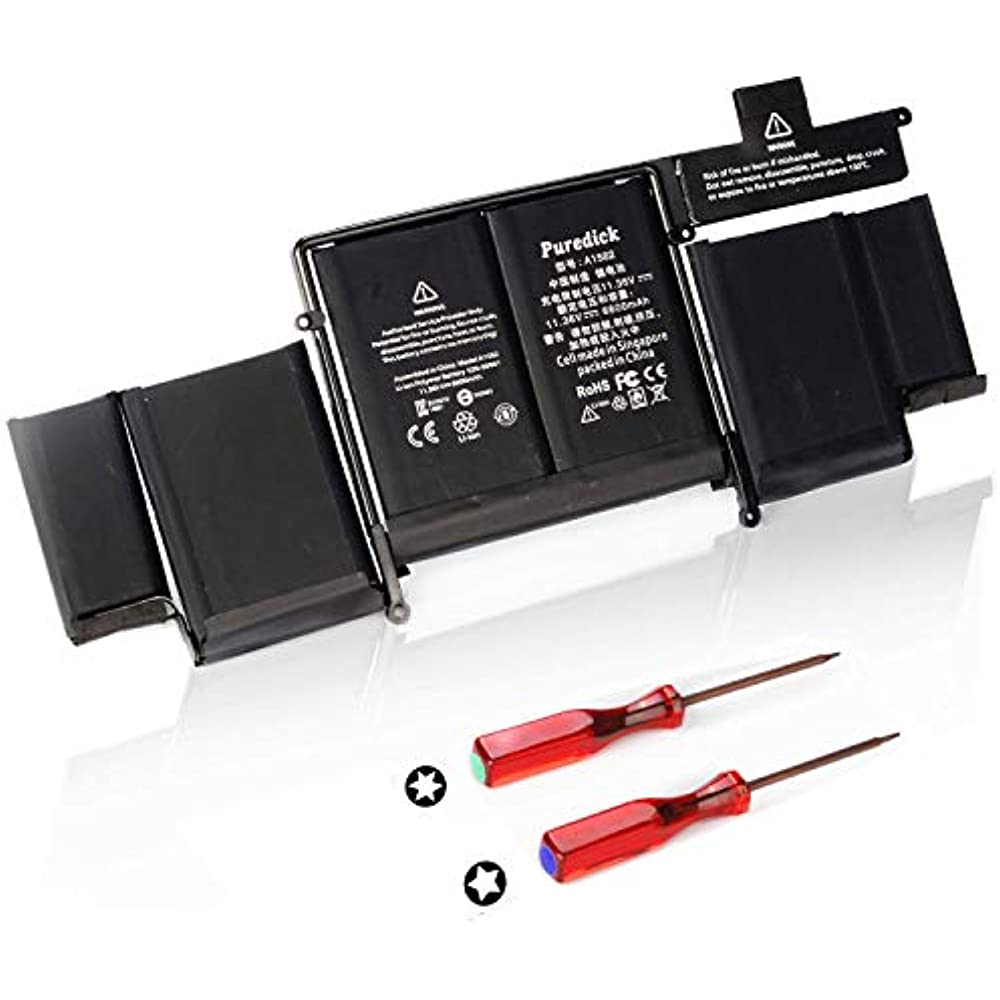 Puredick A1582 New Replacement Laptop Battery For 2015 ...