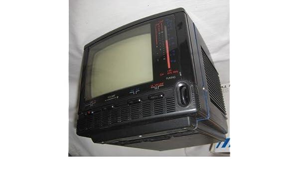 Antiguo Televisor - Old TV : RENMO - Model No : HB 14 - 1B. Blakc ...