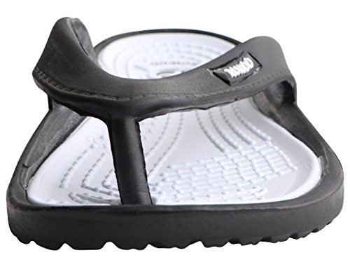 Flops Beach Toe Black Flip Lightweight ROWOO Women Sandals EVA Post 6YpwqOxfZ