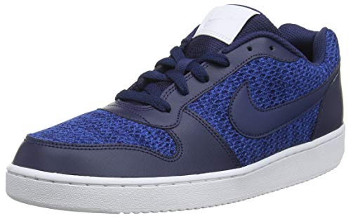 Nike Herren Ebernon Loprem Basketballschuhe Blau (Gym Blue/Midnight Navy/White 440)