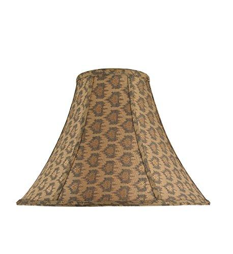 Aspen Creative 30051-9 - Lámpara de techo con forma de cascabel, CAMPANA - CONSTRUCCIÓN DE ARAÑA - 1 PAQUETE, 6' x 16' x...