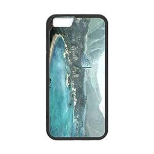 Dead Island iPhone 6 Plus 5.5 pulgadas del teléfono celular funda Negro caja del teléfono celular Funda Cubierta EEECBCAAB02705