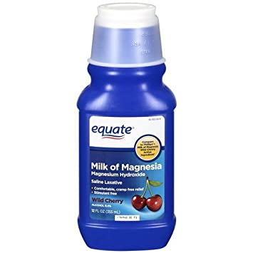 Equate - Milk of Magnesia, Wild Cherry, 12 fl oz by Equate