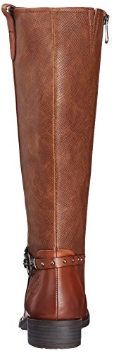 Marco Tozzi Premio Damen 25615 Stiefel Braun (Cognac Antic)