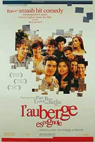 L'AUBERGE ESPAGNOLE Double-Sided Advance 27x40 Original Movie Poster