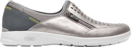 Slip-on Rockboard Truflex Donna Slip On Metallizzato Grigio