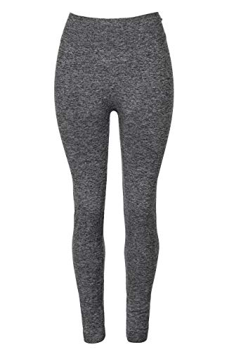 Crush Ladies Seamless Legging Size S/M - Marled Grey -