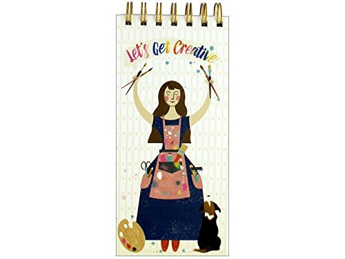 Molly & Rex Spiral List Pad Let's Be Creative