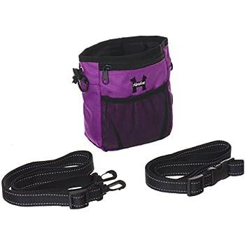Pet Supplies : Purple Dog Treat Bag - Treat Training Pouch
